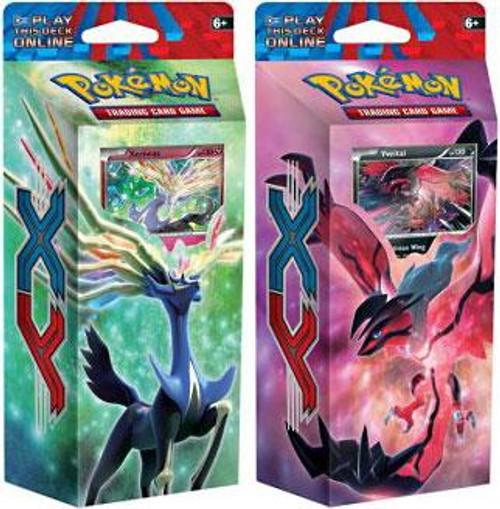 Pokemon XY X & Y Destruction Rush & Resilient Life Set of Both Theme Decks [Sealed]