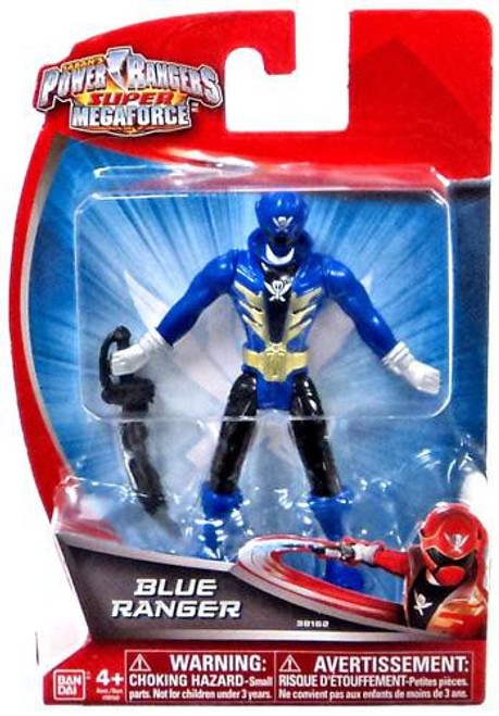 Power Rangers Super Megaforce Blue Ranger Action Figure