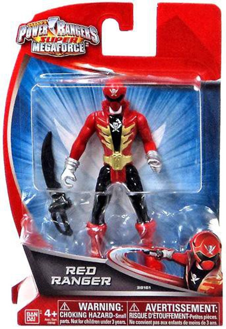Power Rangers Super Megaforce Red Ranger Action Figure
