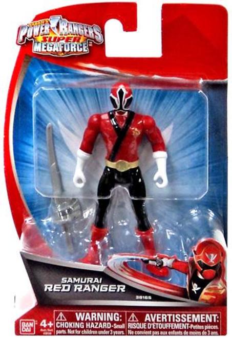 Power Rangers Super Megaforce Samurai Red Ranger Action Figure