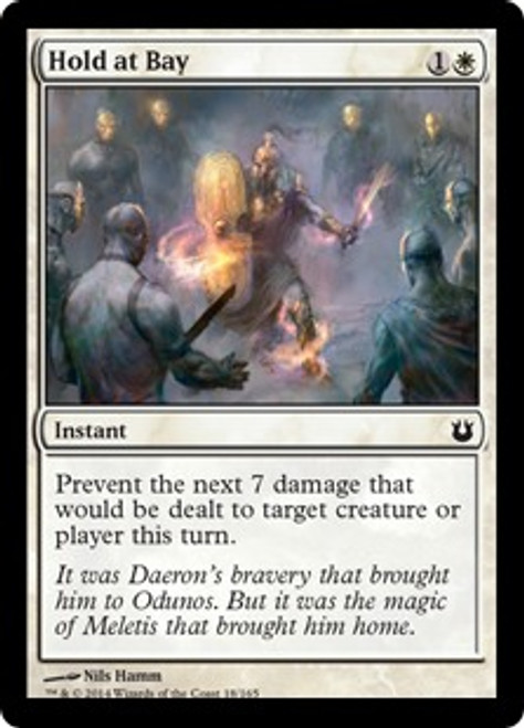 MtG Born of the Gods Common Hold at Bay #18
