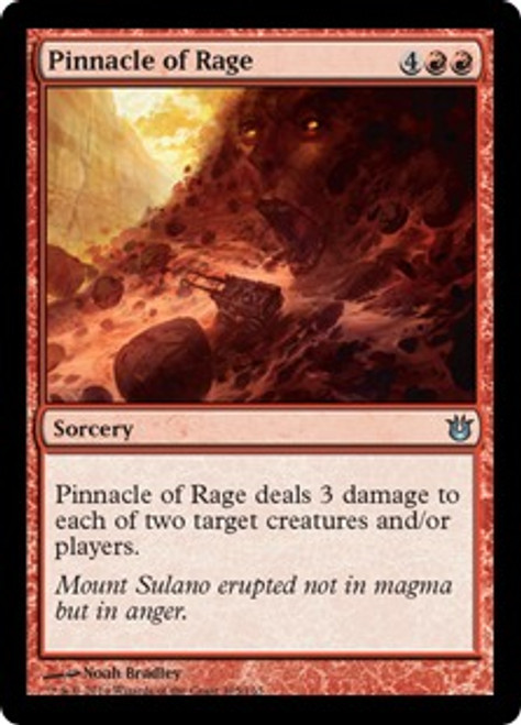MtG Born of the Gods Uncommon Pinnacle of Rage #105