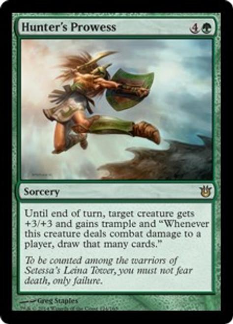 MtG Born of the Gods Rare Hunter's Prowess #124