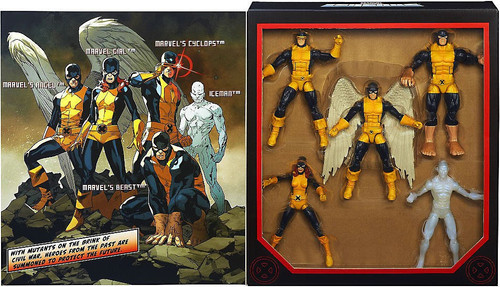 Marvel Legends Boxed Sets All New X-Men Exclusive Action Figure 5-Pack Boxed Set