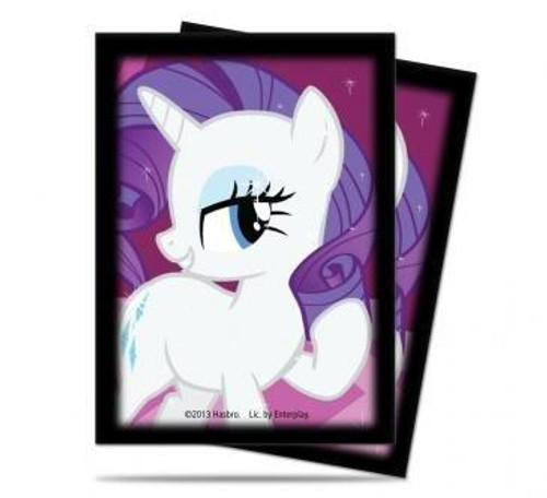 Ultra Pro My Little Pony Card Supplies Rarity Deck Protector Small Card Sleeves [65 ct]
