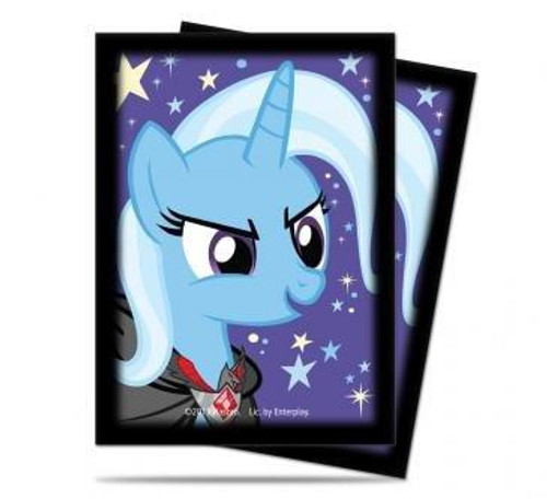 Ultra Pro My Little Pony Collectible Card Game Card Supplies The Great & Powerful Trixie Deck Protector Card Sleeves [65 ct]