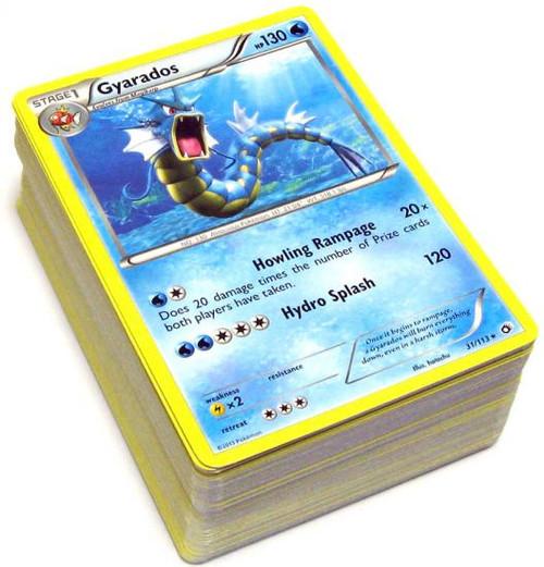 Pokemon Black & White Legendary Treasures Lot of 100 Random Single Cards