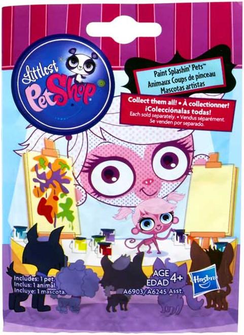 Littlest Pet Shop 2014 Series 1 Mystery Pack [Paint Splashin' Pets]
