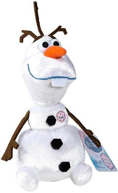 Disney Frozen Talking Bean Bag Olaf 8-Inch Plush Doll