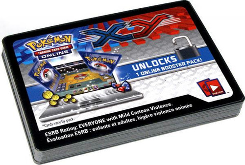 Pokemon X & Y Lot of 36 Code Cards Online Code Card Single Cards