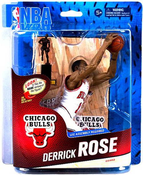 McFarlane Toys NBA Chicago Bulls Sports Picks Series 24 Derrick Rose Action Figure [White Jersey]