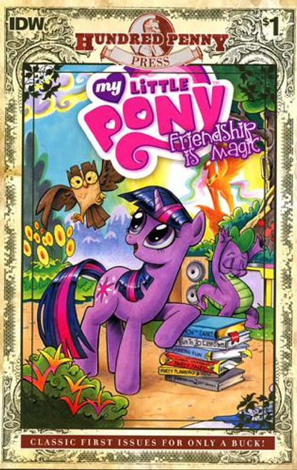 My Little Pony Friendship is Magic Comic Book #1 [Hundred Penny Press Edition]