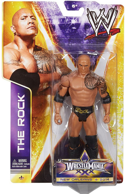 WWE Wrestling Series 36 The Rock Action Figure