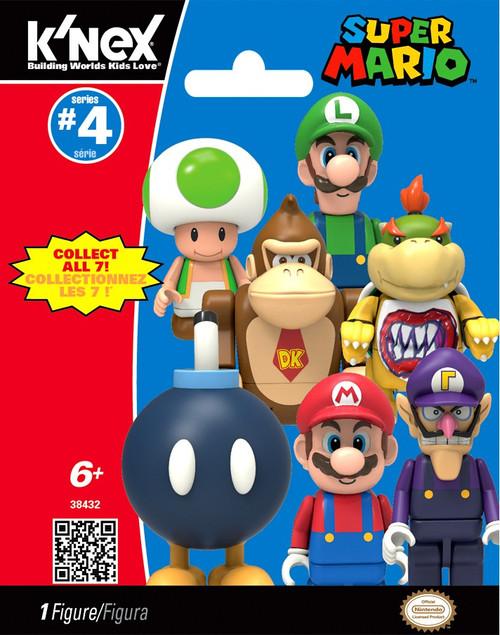 K'NEX Super Mario Series 4 Mystery Pack #38432