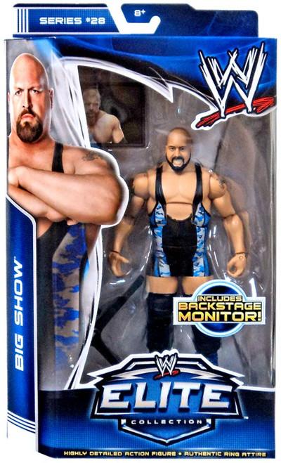 WWE Wrestling Elite Series 28 Big Show Action Figure [Backstage Monitor]