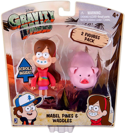 Disney Gravity Falls Mabel Pines & Waddles Action Figure 2-Pack