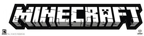 Minecraft Logo Bumper Sticker