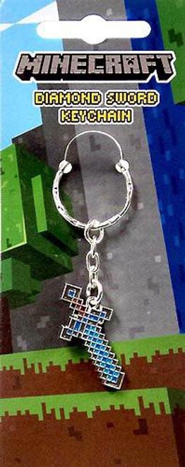 Minecraft Diamond Sword Keychain