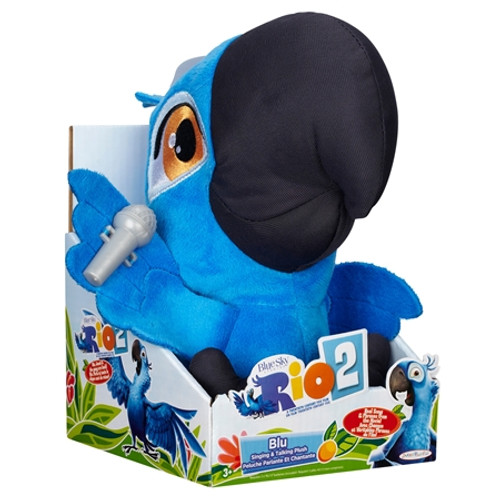 Rio 2 Blu 8-Inch Plush