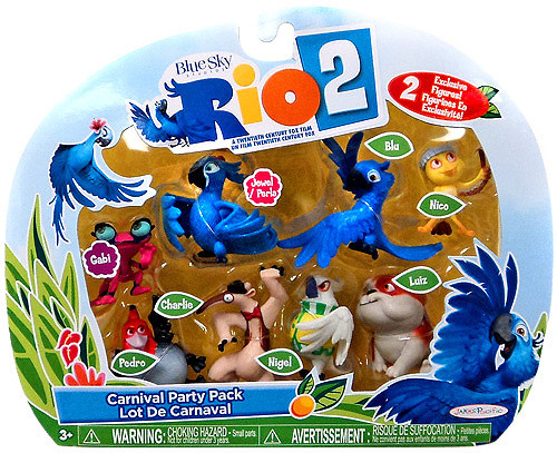 Rio 2 Carnival Party Pack Mini Figures