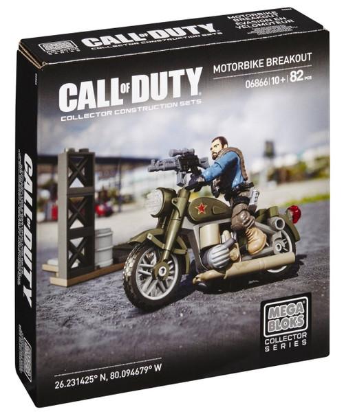 Mega Bloks Call of Duty Motorbike Breakout Set #06866