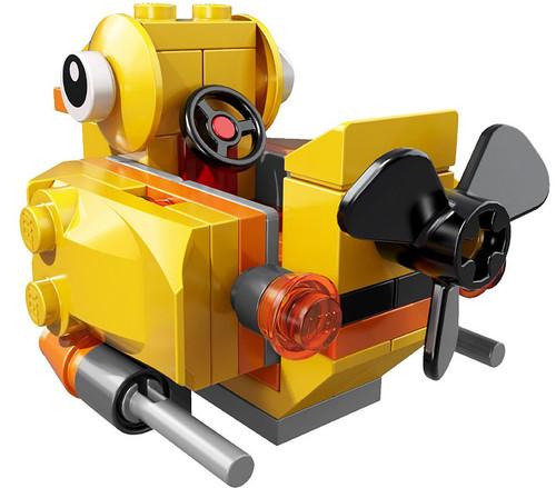 LEGO DC Universe Super Heroes Loose Mini Vehicles Penguin's Duck Boat Loose Vehicle [Loose]