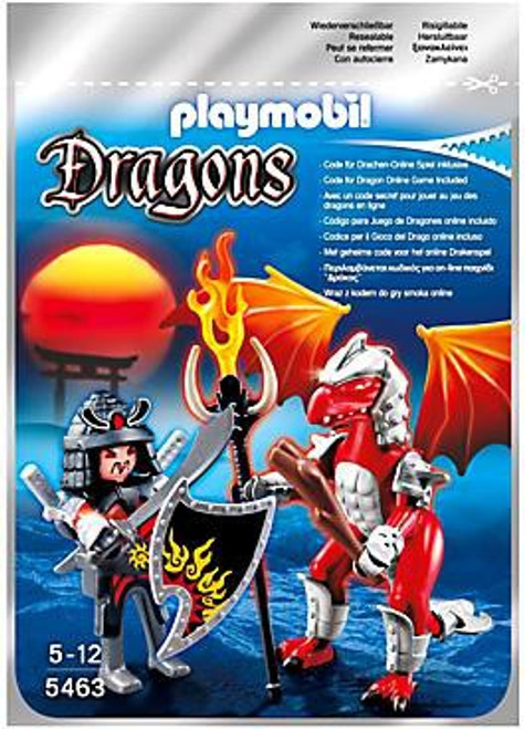 Playmobil Dragons Fire Dragon with Warrior Set #5463