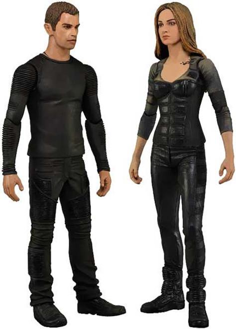 NECA Set of 2 Divergent Action Figures