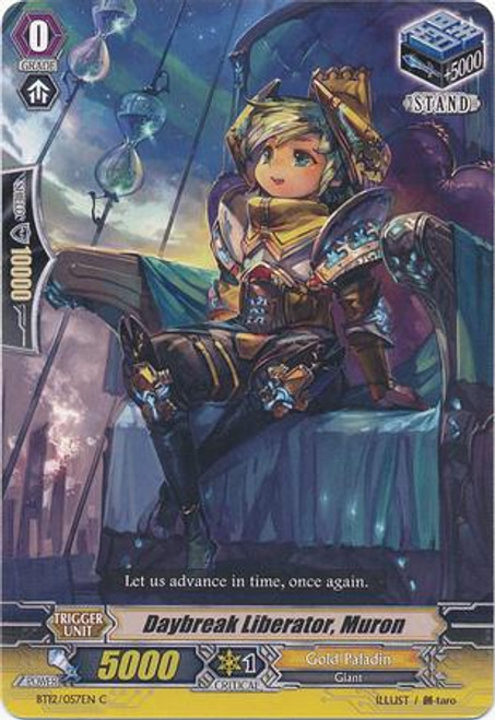 Cardfight Vanguard Binding Force of the Black Rings Common Dawn Liberator, Murron BT12/057