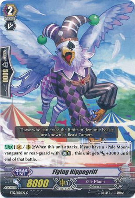 Cardfight Vanguard Binding Force of the Black Rings Common Flying Hippogriff BT12/091