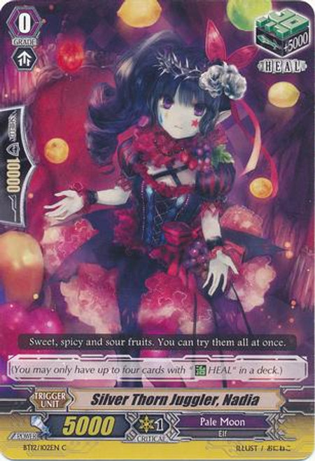 Cardfight Vanguard Binding Force of the Black Rings Common NAME BT12/102