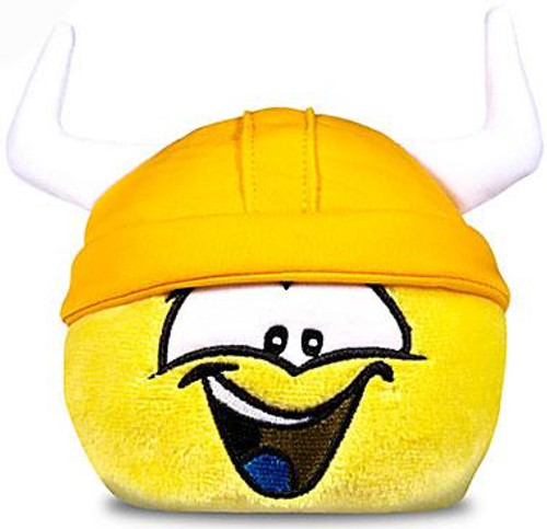 Club Penguin Series 11 Yellow Puffle 4-Inch Plush [Viking Hat [No Coin!]]
