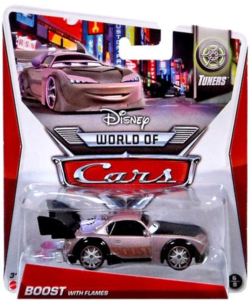 Disney Cars The World of Cars Series 2 Boost with Flames Diecast Car