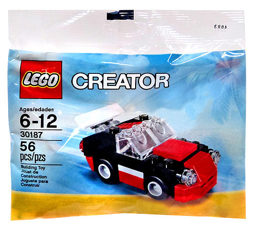 LEGO Creator Fast Car Mini Set #30187 [Bagged]