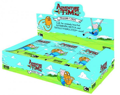 Adventure Time Trading Card Box
