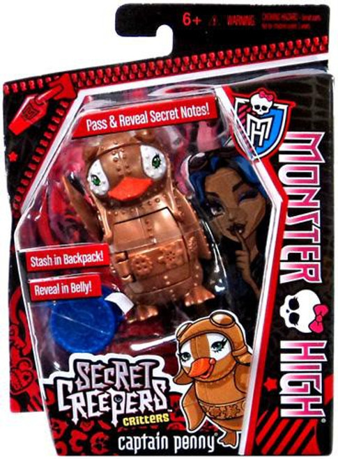 Monster High Secret Creepers Critters Captain Penny Figure