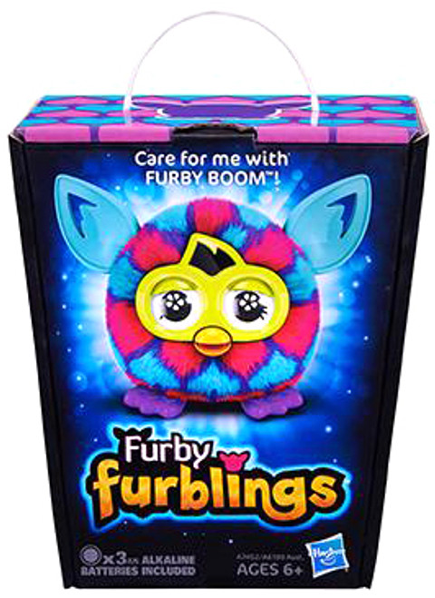 Furby Furblings Pink & Blue Hearts Figure