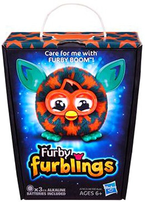 Furby Furblings Orange Stars Figure
