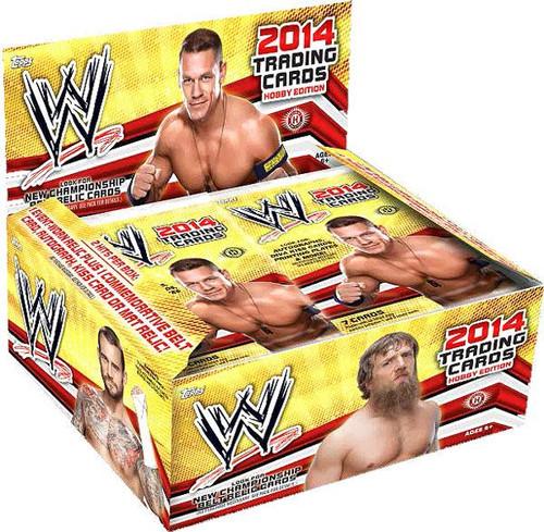 WWE Wrestling 2014 WWE Hobby Trading Card Box