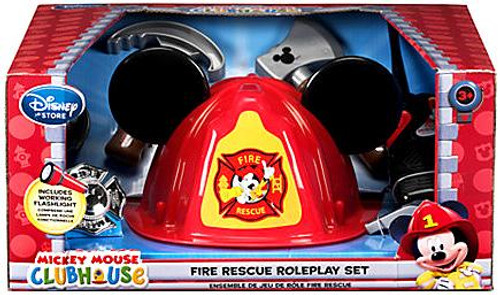 Disney Mickey Mouse Clubhouse Mickey Mouse Fire Rescue Roleplay Set Exclusive Roleplay Toy