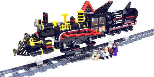 LEGO Back to the Future Jules Verne Train Set