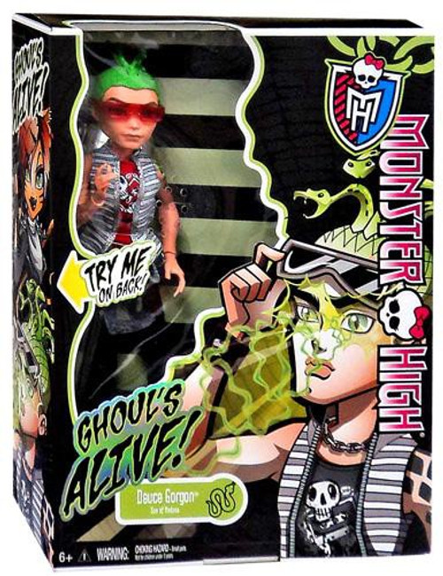 Monster High Ghouls Alive Deuce Gorgon 10.5-Inch Doll