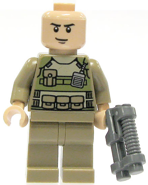 LEGO DC Universe Super Heroes Loose Colonel Hardy Minifigure [Loose]