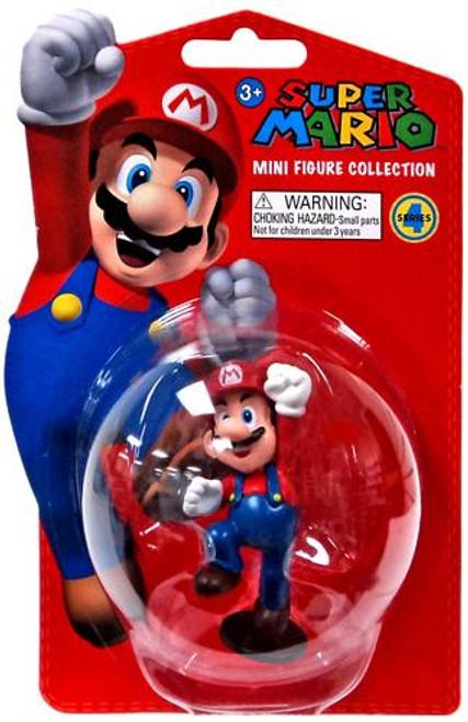 Super Mario Bros Series 4 Mario 2-Inch Vinyl Mini Figure