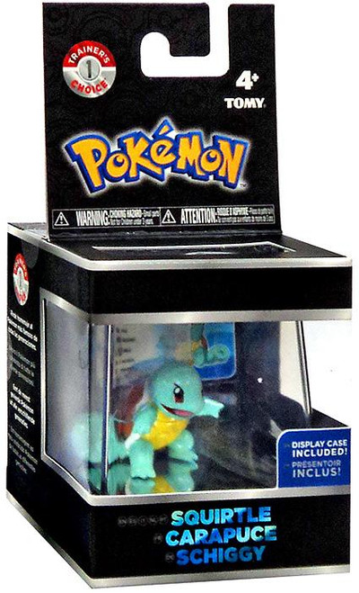 Pokemon Squirtle Trainer's Choice Mini Figure