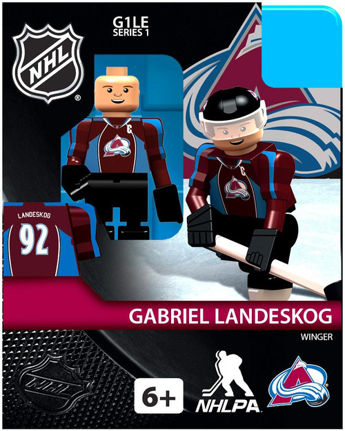 Colorado Avalanche NHL Generation 1 Series 1 Gabriel Landeskog Minifigure