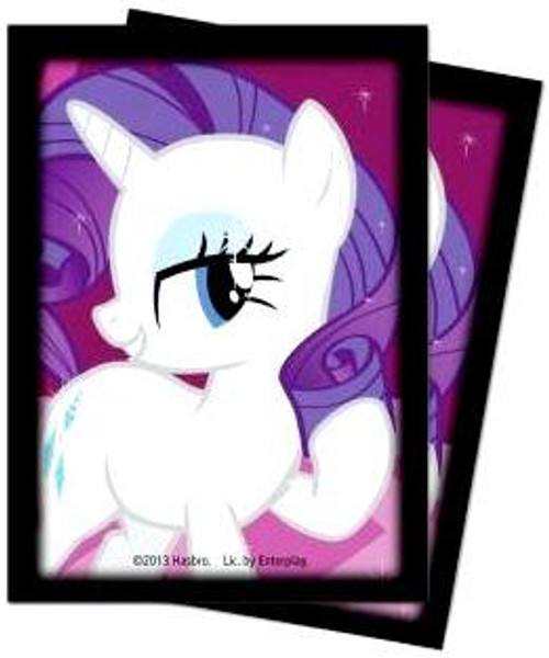 Ultra Pro My Little Pony Collectible Card Game Card Supplies Rarity Deck Protector Card Sleeves [65 ct]