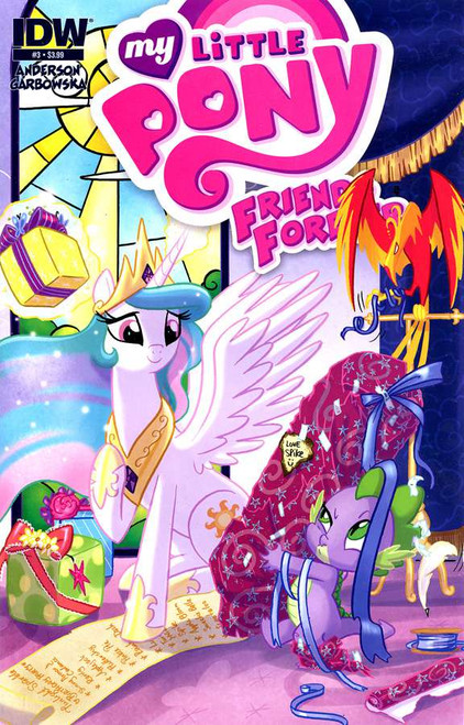 My Little Pony Friends Forever Comic Book #3