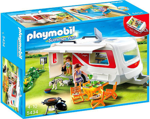 Playmobil Summer Fun Caravan Set #5434