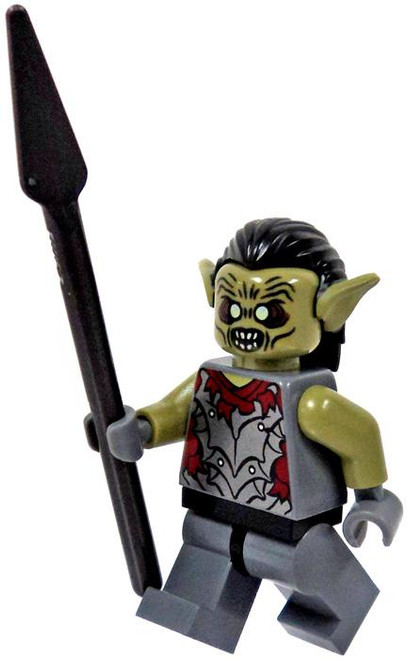 LEGO The Lord of the Rings Loose Orc of Moria Minifigure [Spear Loose]